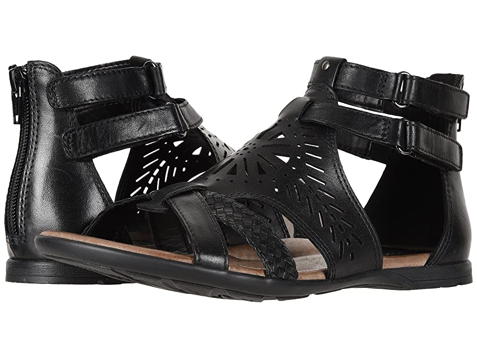 Earth Breaker (Black Soft Burnished Leather) Women