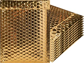 Best gold metallic bubble mailers Reviews