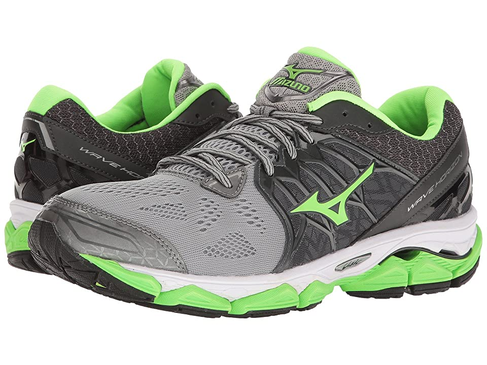 Mizuno Wave Horizon (Griffin/Green Gecko/Dark Shadow) Boys Shoes