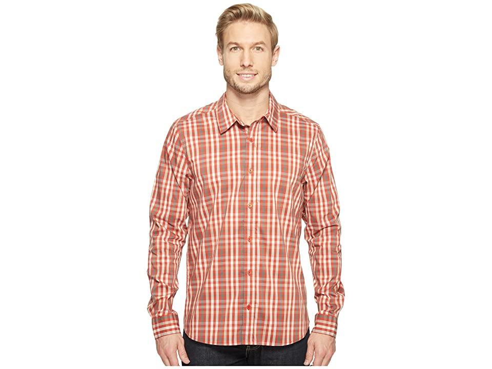 Toad&Co Panorama Long Sleeve Shirt (Red Clay) Men