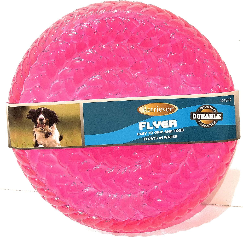 Tractor Supply Company, Retriever Rubber Frisbee Flyer Dog Toy, Colori assortiti, 9 oz.