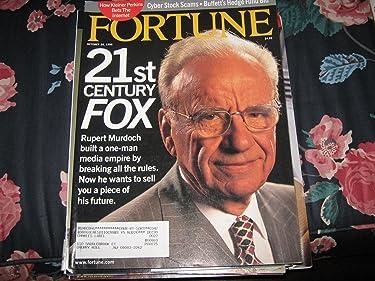 Fortune Magazine (RUPERT MURDOCH....Fox Network & News Corp)