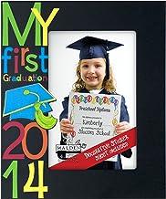 Malden International Designs My First Graduation 2014 Picture Frame, 4x6, Black