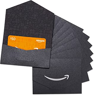 Amazon.com $50 Gift Card - Pack of 10 Mini Envelopes