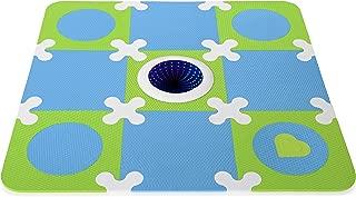 Munchkin Galaxy Light Up Foam Playmat, Blue/Green