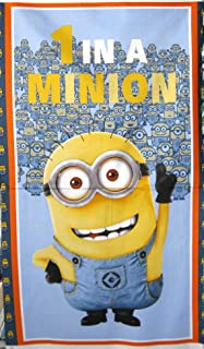 MINIONS Movie 1 In A Minion Kevin Stuart Bob One Cotton Fabric By The Panel