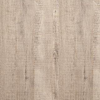 Papel pintado autoadhesivo efecto madera gris y marrón claro rayas gruesas pelar y pegar, papel de contacto de madera, rol...