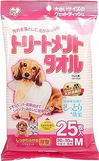 アイリスオーヤマ トリートメントタオル 小型犬・猫用 25枚入