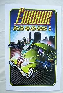 2010 Furthur Chicago Mob Concert Poster