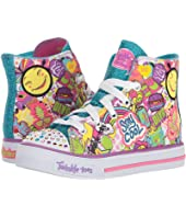 SKECHERS KIDS - Twinkle Toes - Shuffles 10746L Lights (Little Kid/Big Kid)