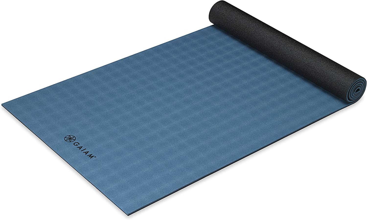 Gaiam Yoga Mat - Ultra-Sticky 6mm Thick Exercise Austin Mall Fitness Extra Direct store