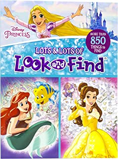 Disney Princess - Lots and Lots of Look And Find Activity Book - PI Kids