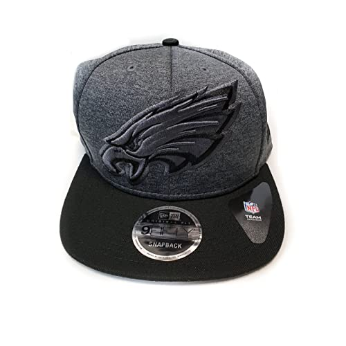New Era Philadelphia Eagles 9Fifty Gray Grand Logo Adjustable Snapback Hat  NFL 57d923f83