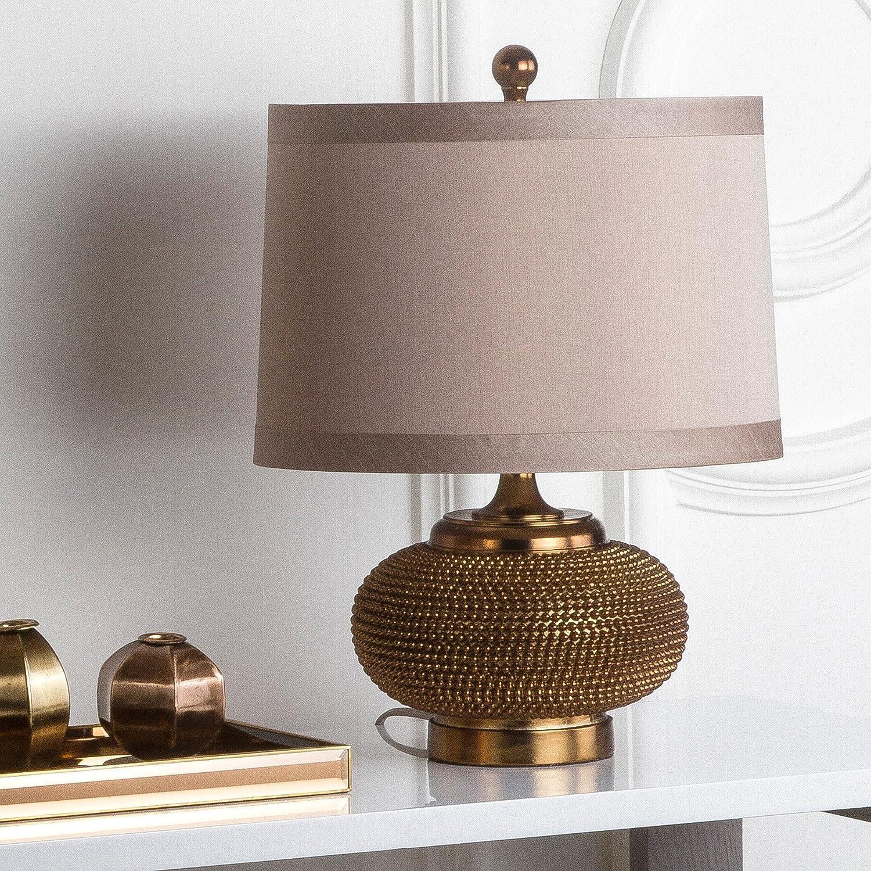 Safavieh Lighting Collection Alexis Gold Bedroom Bead Li New 55% OFF popularity 19-inch