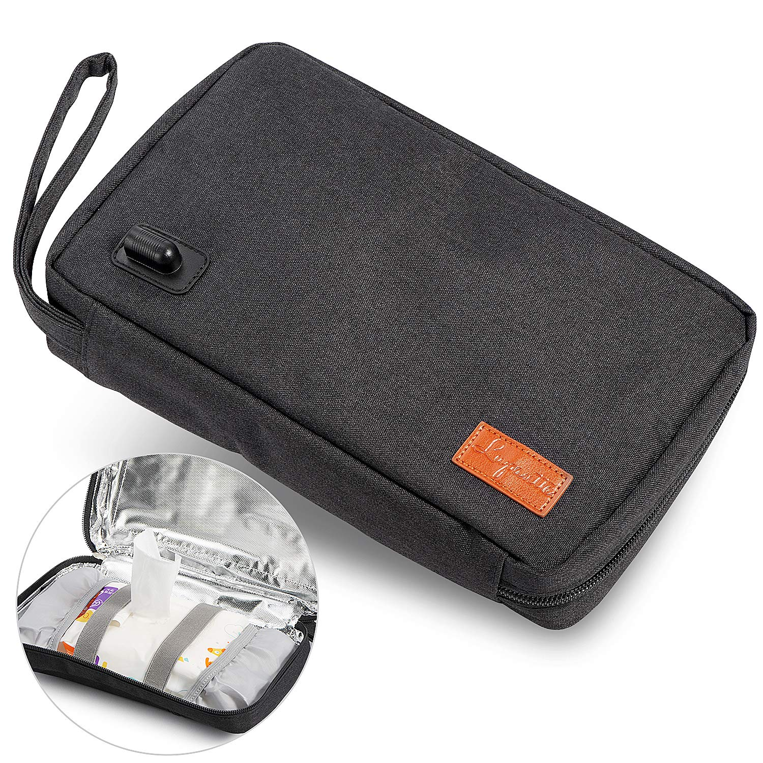 Portable Wipe Warmer Lupantte Baby Limited price Columbus Mall Wipes USB Holde