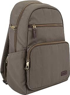 Travelon Travelon Anti-theft Courier Slim Backpack, Stone Gray (gray) - 33307-840