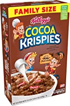 Kellogg's Cocoa Krispies, Breakfast Cereal, Made with Real Chocolate, 22.4 oz Box