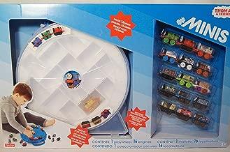 Thomas Tank Minis Playwheel +16 Trains Golden Thomas Built in Track