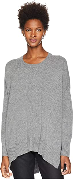 Lofty Recycled Cashmere Crew Neck Oversized Top
