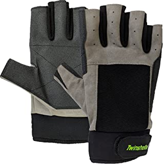 Twinshells Sailing Gloves 3/4 Finger - Great for Sailing, Yachting, Paddling, Kayaking, Fishing, dinghying for Men, Women, and Childs
