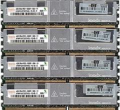 16GB Kit 4x4GB Hynix HYMP151F72CP4N3 2Rx4 PC2-5300F HP PN 398708