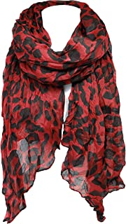 Best red scarf with zebras Reviews