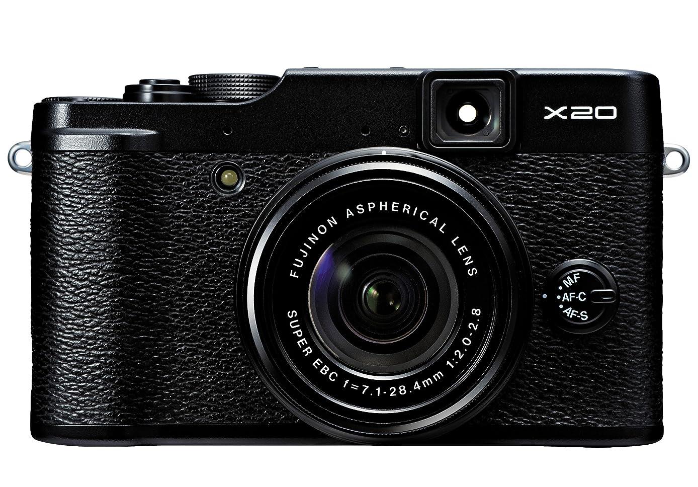 Fujifilm X20 12 MP Digital Camera with 2.8-Inch LCD (Black)