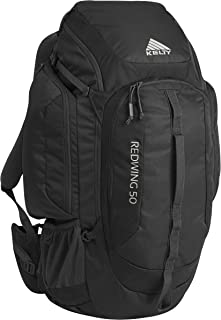 Kelty Redwing 50 Backpack - Hiking, Backpacking, Travel & Everyday Carry Backpack with Laptop Sleeve, Hydration Compatible, Removable Hip Belt, Carry On Bag (Renewed)