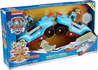 Paw Patrol Mighty Pups Super Paws Mighty Twins Power Split Vehicle