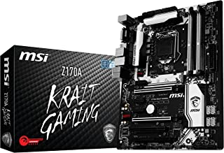 MSI Z170A Krait Gaming - Placa Base (Socket LGA 1151, 4 x DDR4 3600(OC) hasta 64 GB)