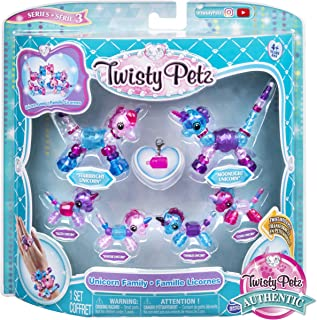 Twisty Petz, Series 3, Unicorn Family Pack Collectible Bracelet Set for Kids Aged 4 and Up