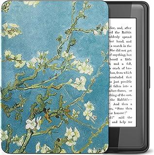 TiMOVO Kindle Paperwhite Funda , Delgada Cubierta Case Ligera Protectora con Función de Auto Wake/Sleep , Bloom de Albaricoque