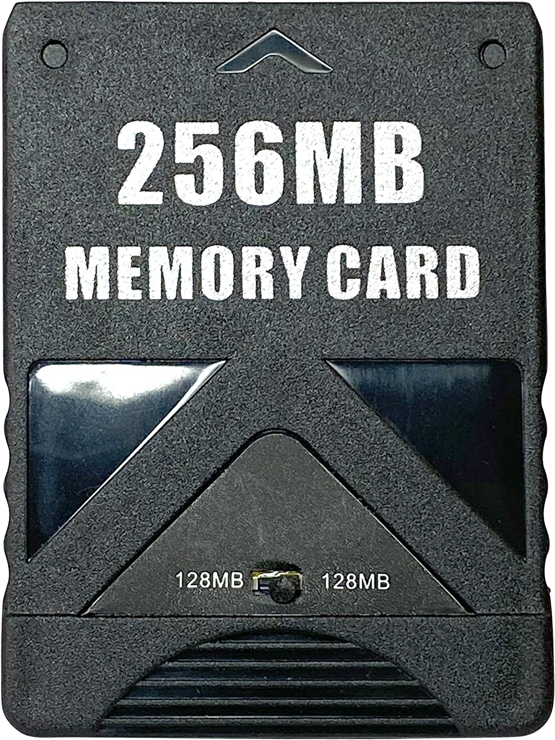 Detroit Packing Co. High Speed Memory Card for Playstation 2, Compatible with Sony PS2, 256MB (4086 Blocks)