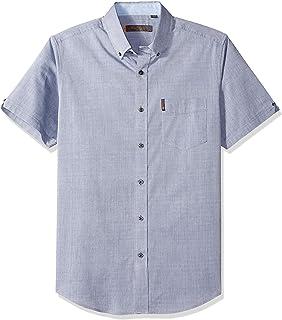 Ben Sherman Men's Ss Micro Dmnd Dobby Shirt