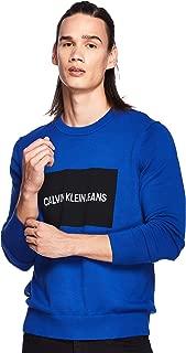 Calvin Klein Men's J30J309542-Blue Sweatshirts