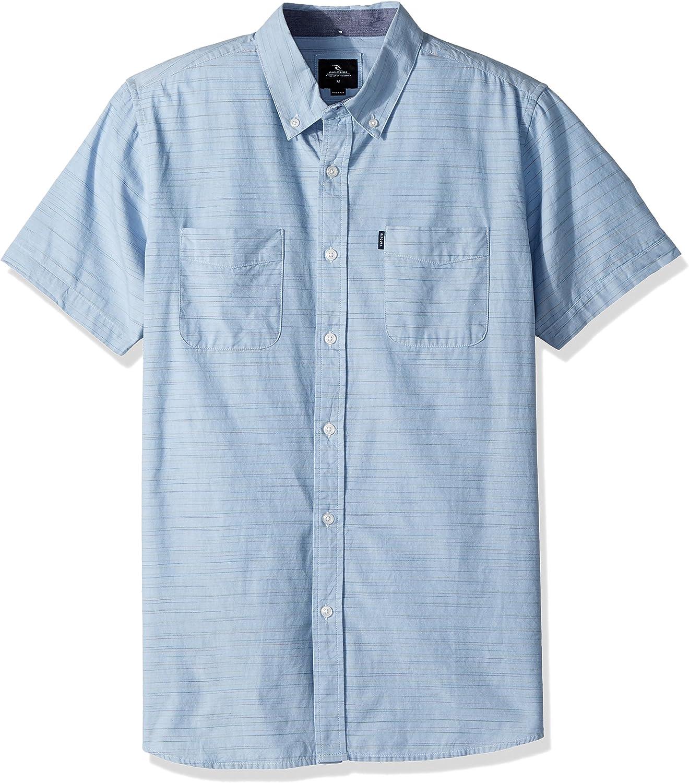32cd26e95a Rip Curl Mens Endy Endy Endy Ss Shirt Button Down Shirt 76ff11 ...