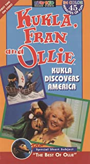Kukla, Fran and Ollie: Kukla Discovers America 1970  VHS