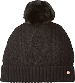 Ted Baker - Cable Knit Bobble Hat