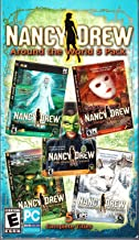 Nancy Drew Around the World 5 Pack: Danger By Design / Creature Of Kapu Cave / White Wolf Of Icicle Creek / Phantom Of Venice / Haunting Of Castle Malloy