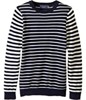 Toobydoo - Paris Stripe Sweater (Toddler/Little Kids/Big Kids)