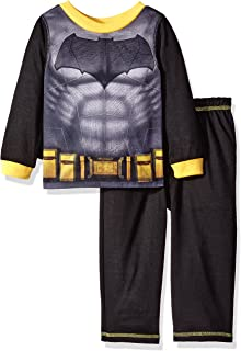 AME Toddlers Boys 2pc Batman Footed Sleeper