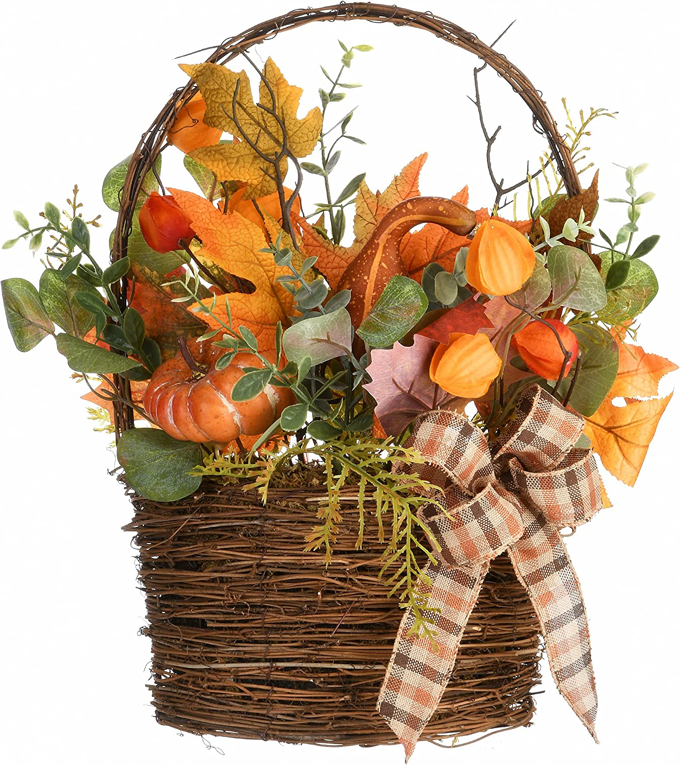 Max 80% OFF Selling rankings National Tree Company RAHV-BC060888A Harvest Brow Basket 17 in