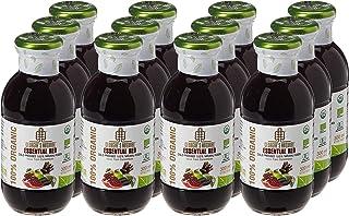 Georgia's Natural100% Organic Cold Pressed Essential Red Juice, 300 ml x 12