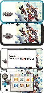 Kingdom Hearts 3D Dream Drop Distance Game Skin for New Nintendo 2DS XL Console 100% Satisfaction Guarantee!