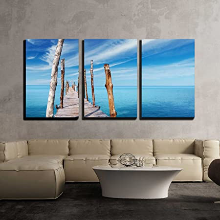 THAILAND SEA BOAT MOUNTAIN SSUMMER CANVAS PICTURES WALL ART PRINTS HOLIDAY PHOTO