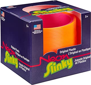 POOF The Original Slinky Brand Neon Plastic Slinky Kids Spring Toy