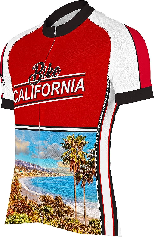 CORVARA BIKE WEAR Bike Over item handling ☆ Memphis Mall California Sleeve Cycling Bik Men's Short