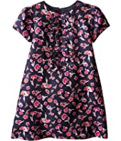 Oscar de la Renta Childrenswear - Watercolor Poppies Dress (Toddler/Little Kids/Big Kids)