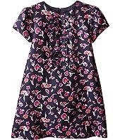 Oscar de la Renta Childrenswear - Watercolor Poppies Dress (Toddler/Little Kids/Big Kids)