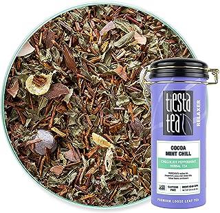 Tiesta Tea - Cocoa Mint Chill, Loose Leaf Chocolate Peppermint Herbal Tea, No Caffeine, Hot & Iced Tea, 3 oz Tin - 50 Cups...